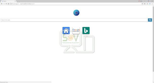 Search.webfirst.online (Hijacker)