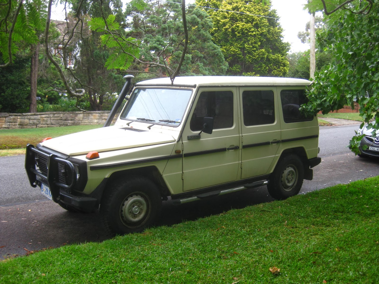 aussie old parked cars 1982 mercedes benz 300 gd g wagen the mole. Black Bedroom Furniture Sets. Home Design Ideas