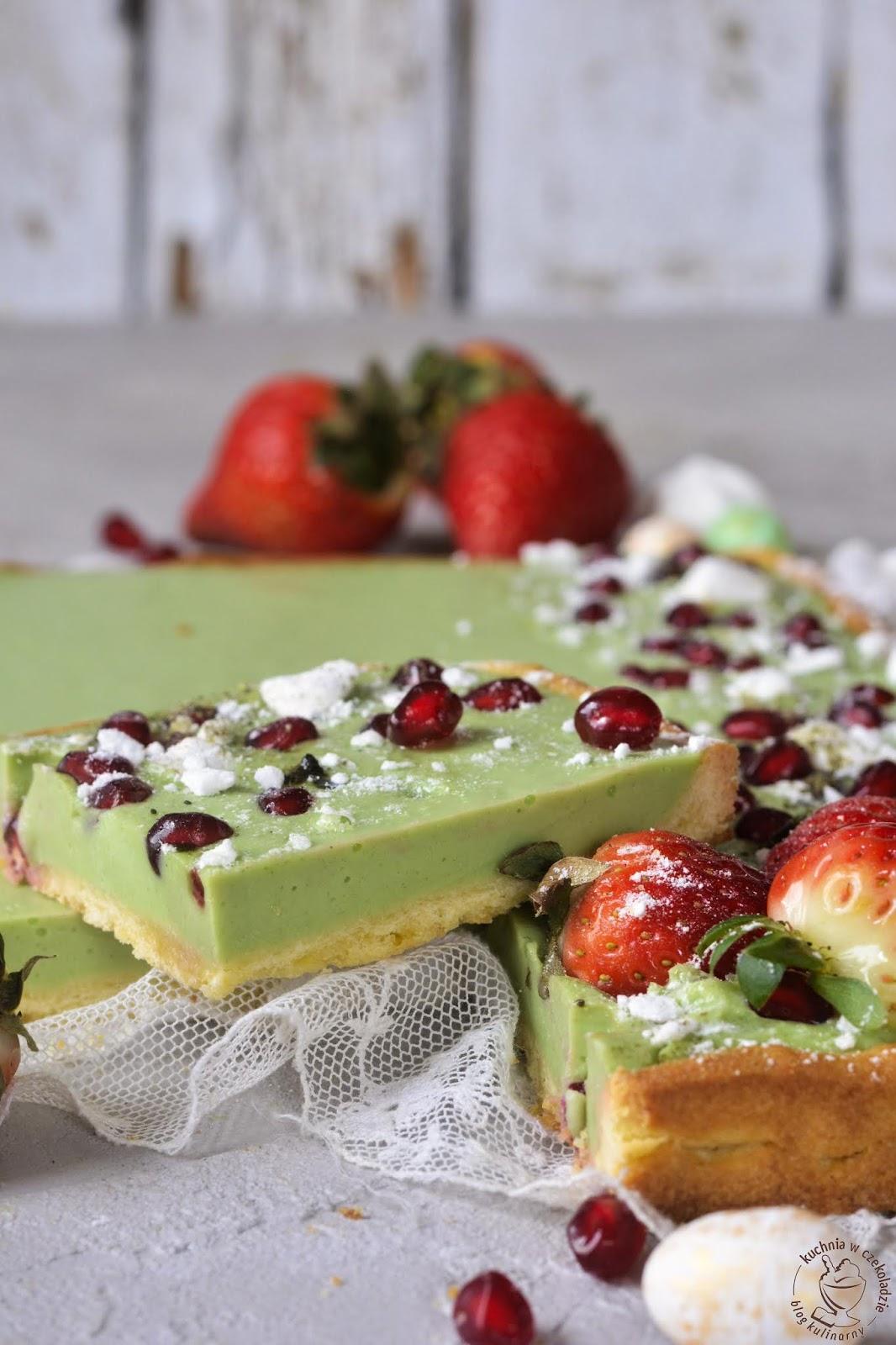 Mazurek Z Zieloną Herbatą Kulinaria Zblogowani