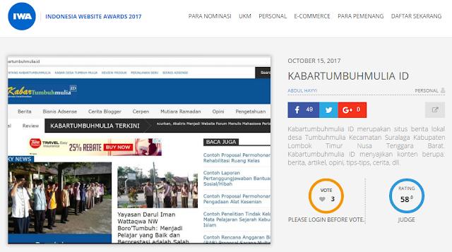 nominasi iwa 2017