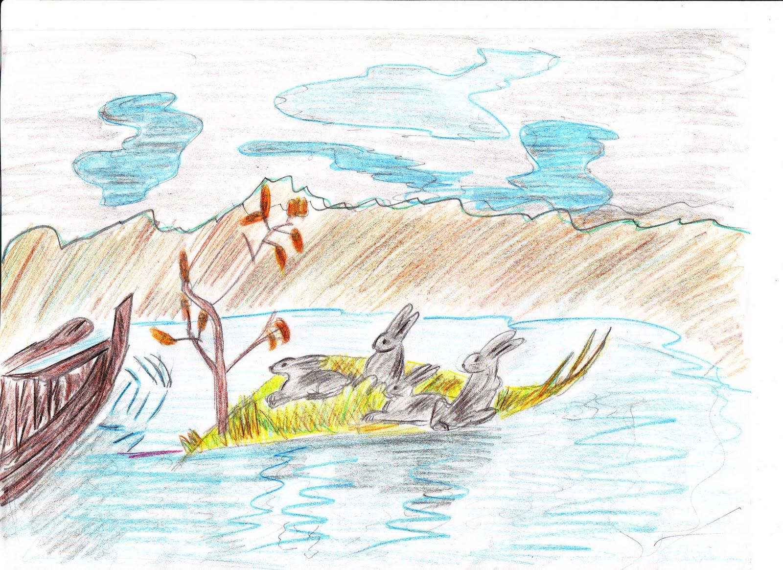 рисунки дедушка мазай и зайцы диагноз выносят