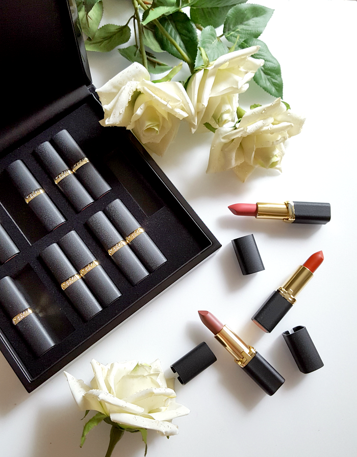 L´Oréal Paris - Color Riche Matte Addiction Lipstick Review & Swatches