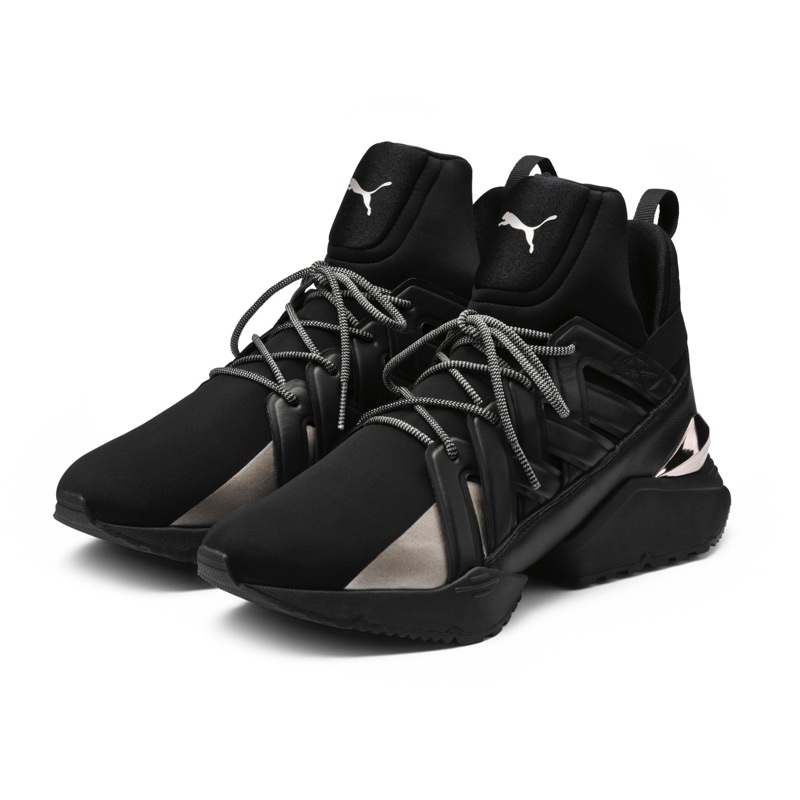 PUMA 'Muse Echo' Sneakers in Black