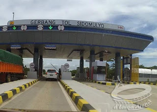 gerbang tol Sidomulyo