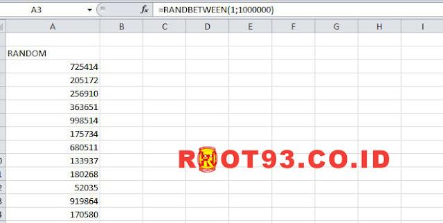Cara Membuat Angka Random di Excel Secara Otomatis
