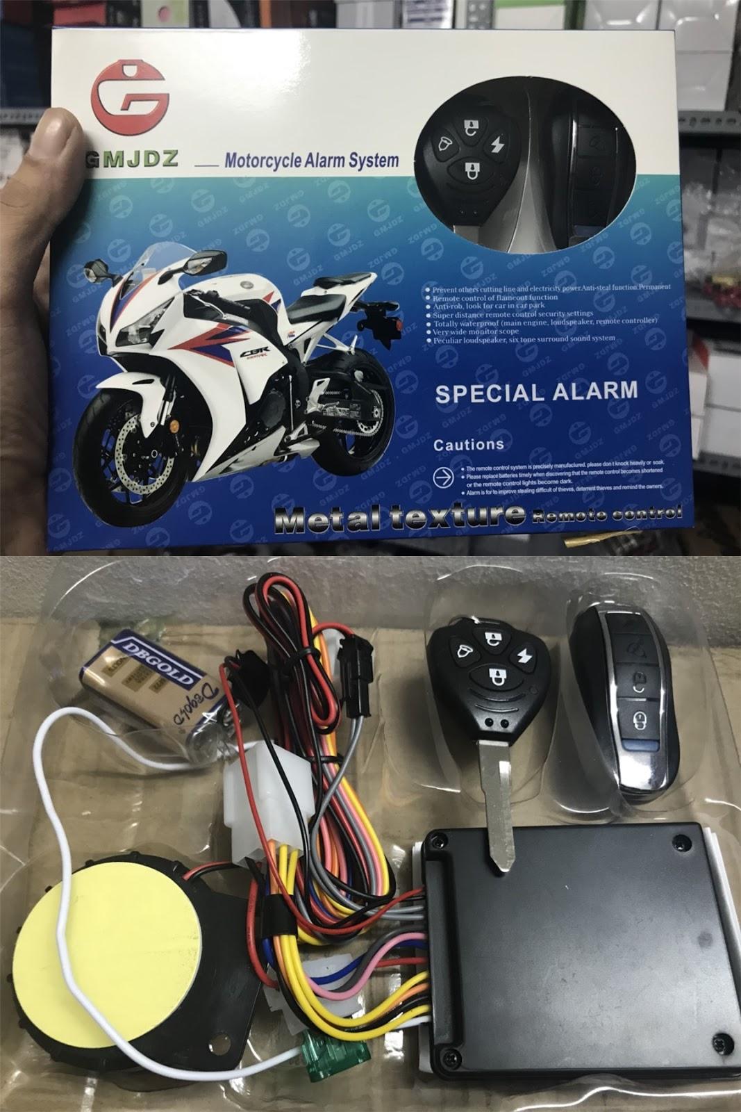 165k - Chống trộm xe máy có remote giá sỉ và lẻ rẻ nhất