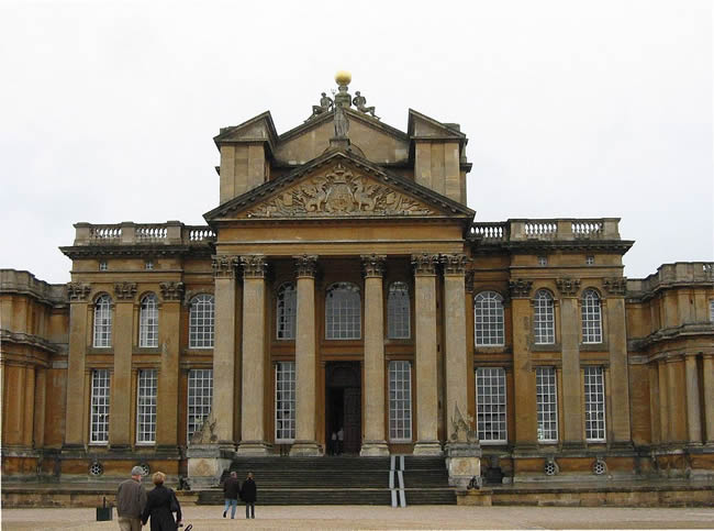 Blenheim Palace, the Churchill family home