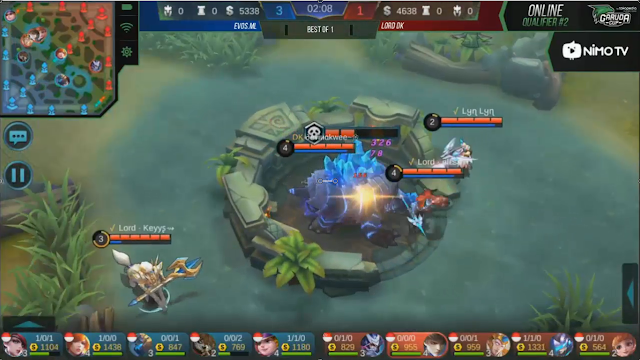 Garuda Cup: MOBILE LEGENDS Qualifier Online 2 #Day4 Evos VS Lord DK