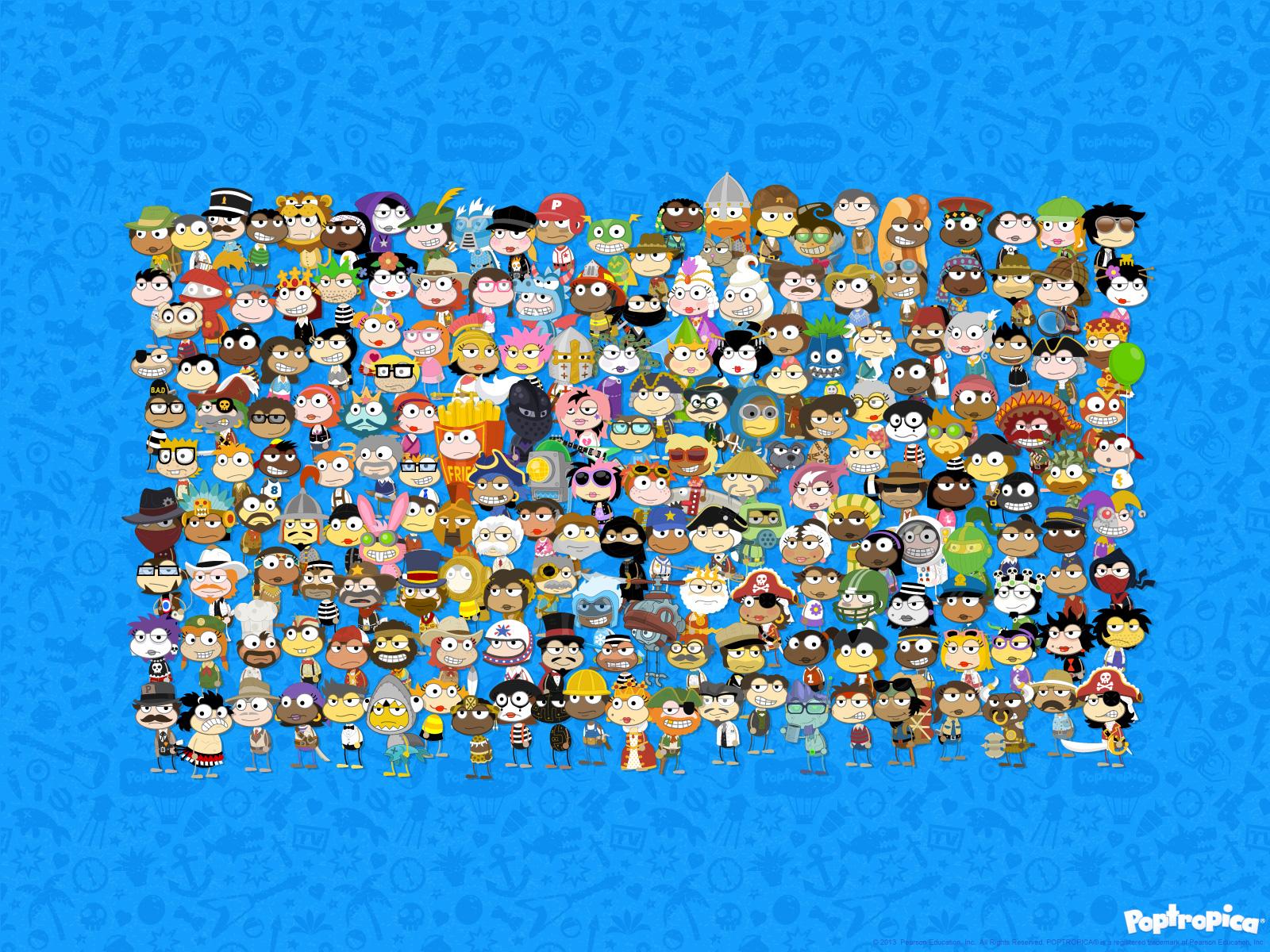 PopCrowd wallpaper