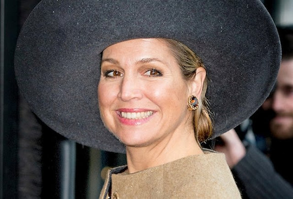 Queen Maxima of The Netherlands visits the new building of Schmidt Zeevis