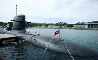 Kapal Selam Scorpene TLDM Malaysia