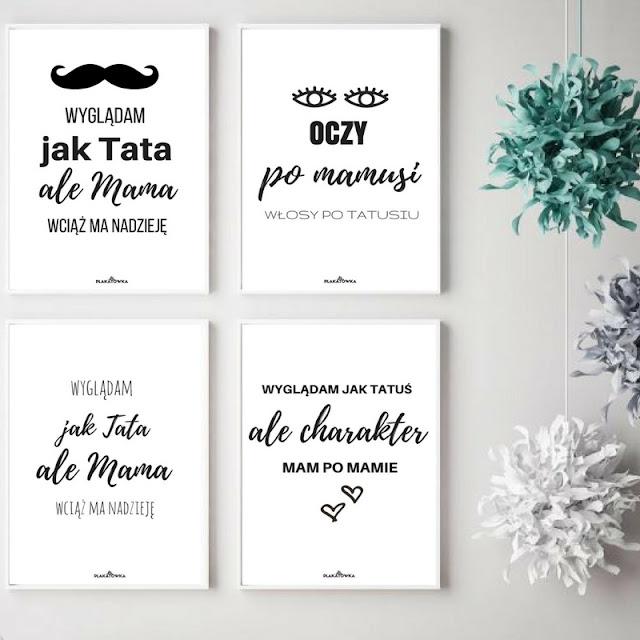 plakaty dla dzieci do druku za darmo
