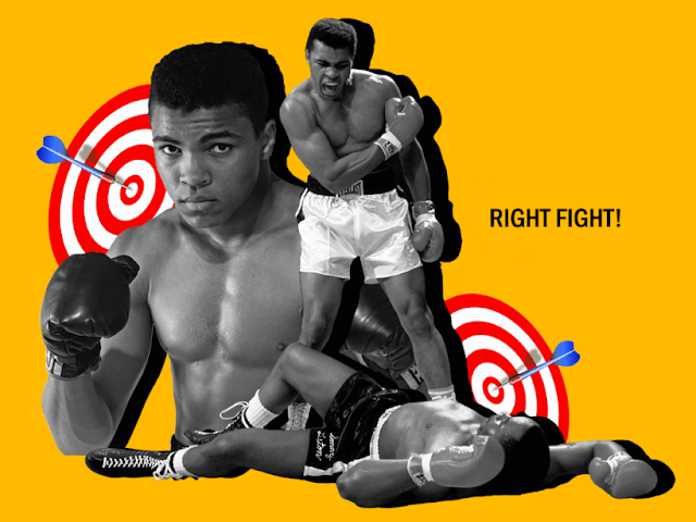 Olga Rukina.The boxer purpose