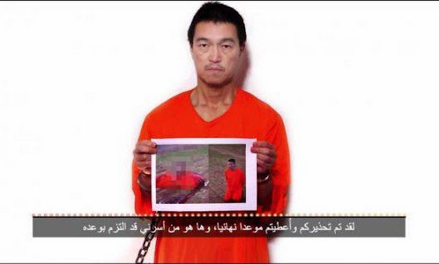 Homem sequestrado pelo Estado Islâmico