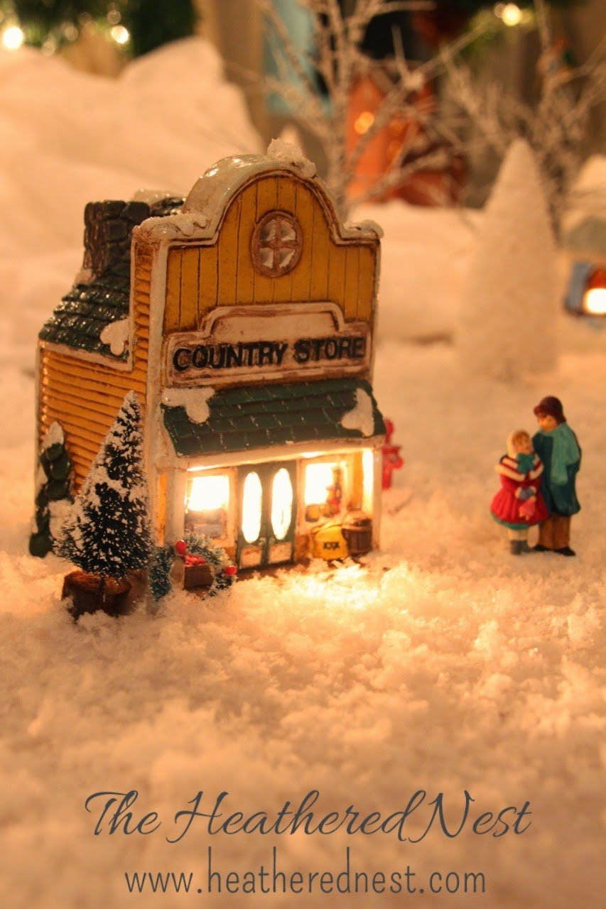 Dept. 56 Village at Dollar Store Prices | The Heathered Nest