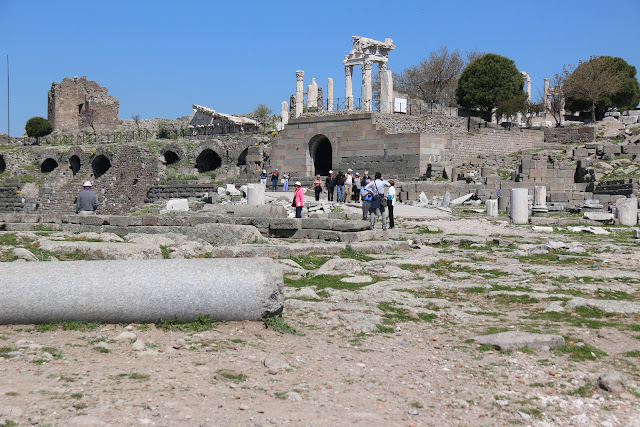 Welcome to Bergama or also known as Pergamon, the ancient Roman city in Turkey