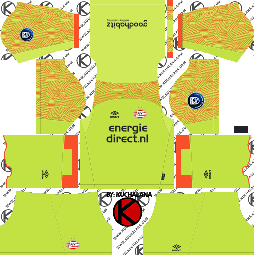 1eb38c685 PSV Eindhoven 2018 19 Kit - Dream League Soccer Kits - Kuchalana