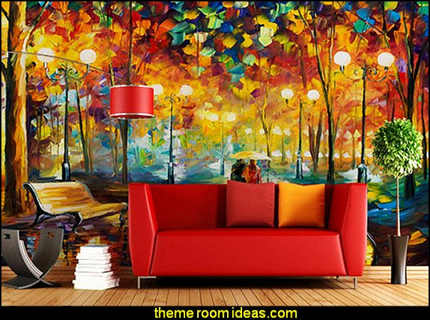 Abstract Tree Large Photo Wallpaper Mural