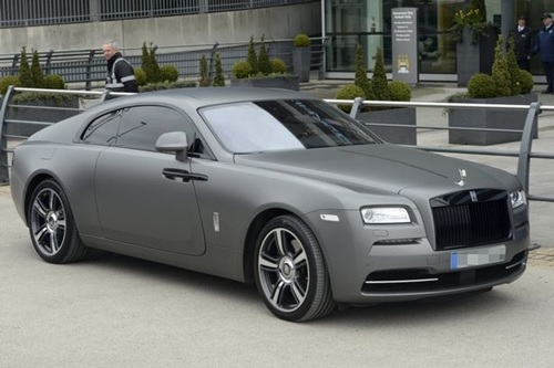Yaya Toure Adds Second N100million Rolls Royce to His Luxury Supercar Collection )(Photos