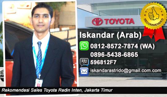 Toyota Radin Inten, Jakarta Timur