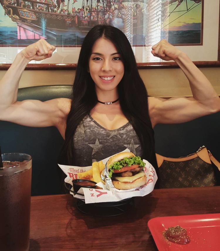 Bikini fitness model Vanessa Chung