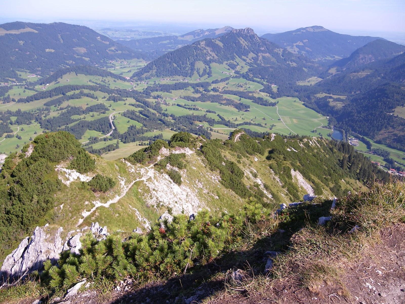 Klettersteig Iseler : Biken berge und steigen klettersteig oder gratwanderung auf