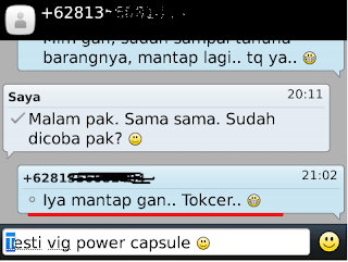 Jual Vig power Capsule Di Kediri
