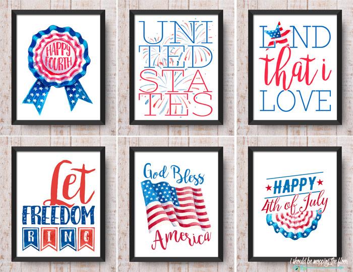 Vintage Patriotic Prints