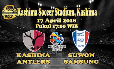JUDI BOLA DAN CASINO ONLINE - PREDIKSI PERTANDINGAN AFC CHAMPIONS LEAGUE KASHIMA ANTLERS VS SUWON SAMSUNG 17 APRIL 2018