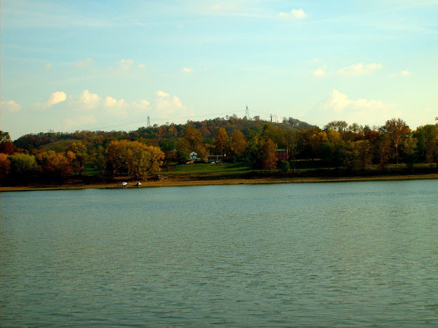 Ohio River at Vevay, Indiana