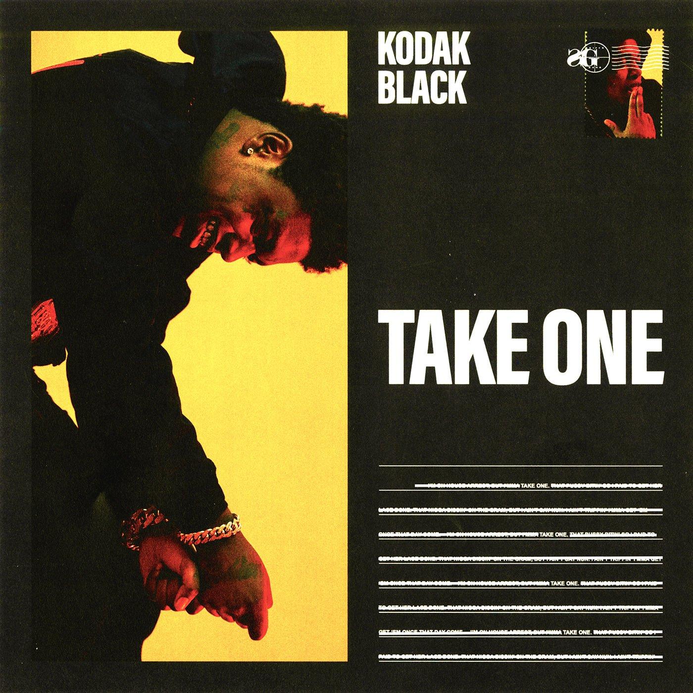 kodak black take one cover