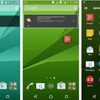 Download Xperia Z5 Home Launcher and Theme APK