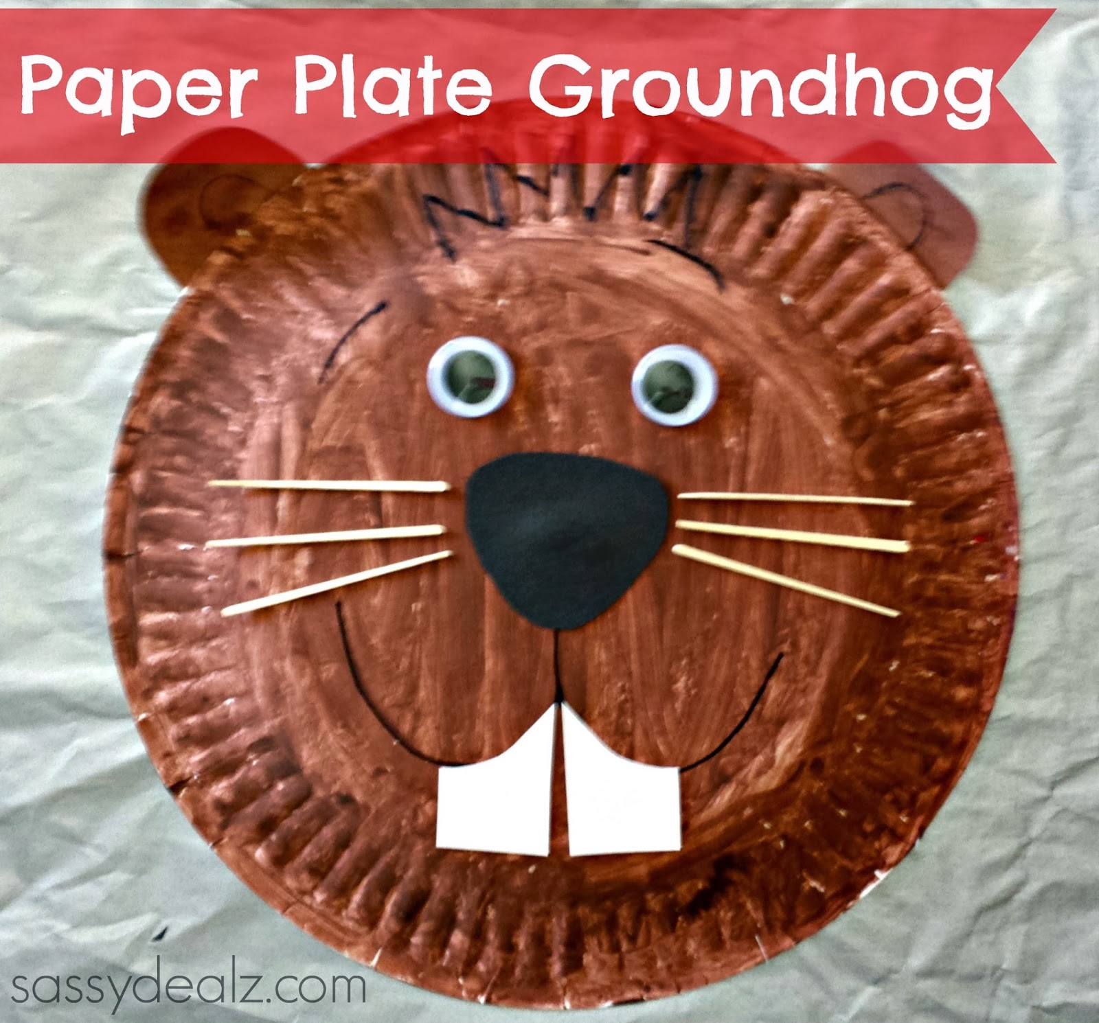 Groundhog Day Crafts For Kids Crafty Morning