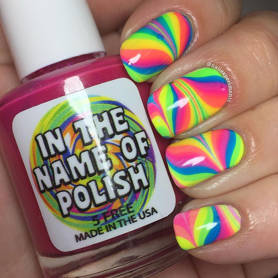 Nail Experiments Get The Look How To Cheat At Water Marbling