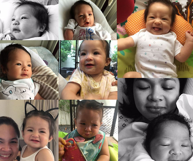 Judy Ann Santos and Ryan Agoncillo's Baby Luna - Her First Year In Photos