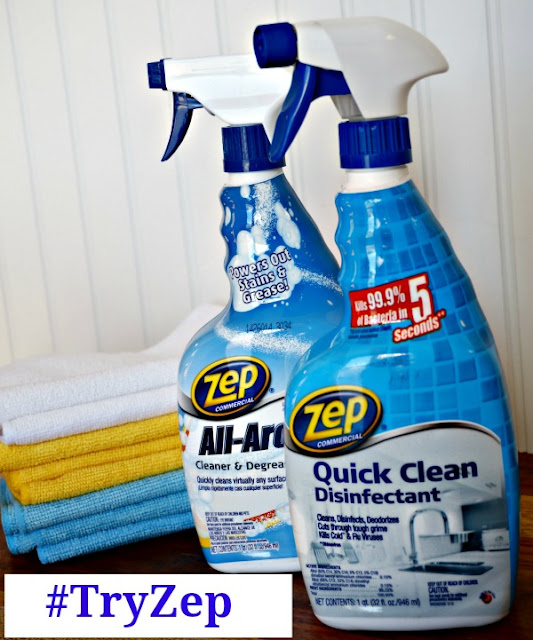 FREE Zep All-Round Oxy Cleaner & Quick Clean Disinfectant
