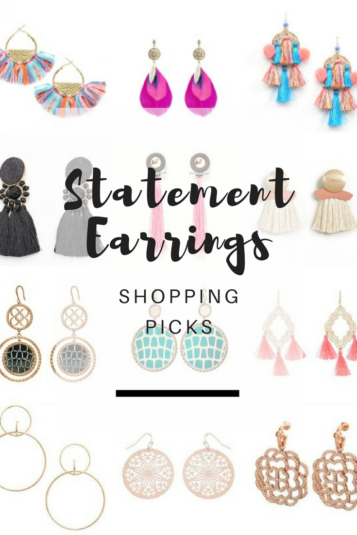 Statement earrings - Ioanna's Notebook