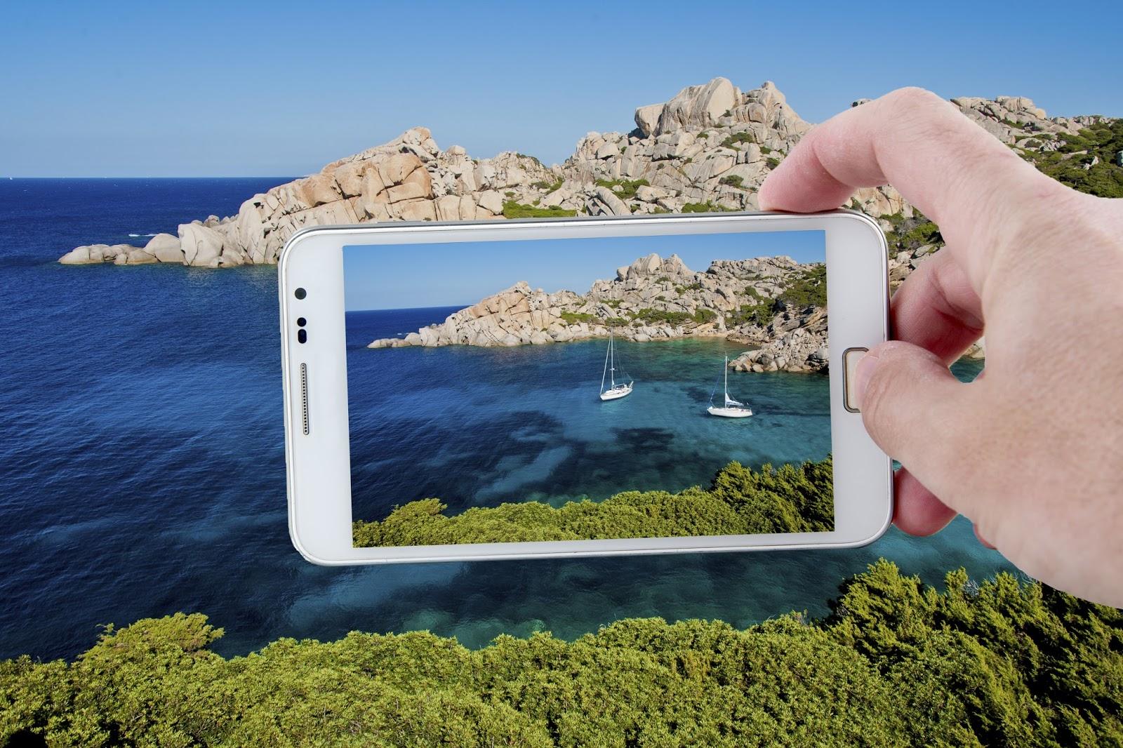 cách chụp ảnh phong cảnh đẹp bằng điện thoại