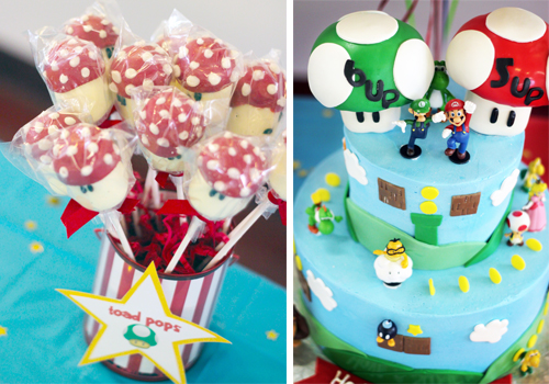 Mario mark luigi luke real party amys party ideas the party was for lukes 6th birthday and marks 5th birthday they are 12 months 12 days apart so i always join their birthdays together filmwisefo