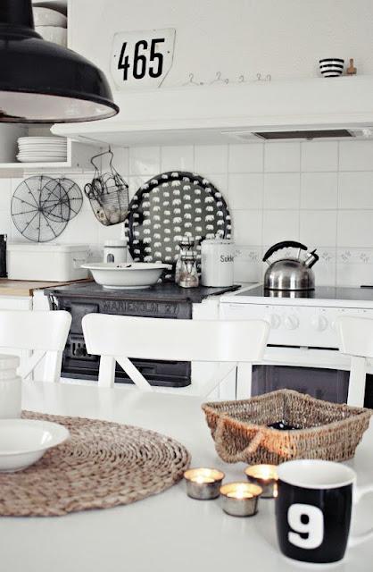 kuchyně v nordickém stylu
