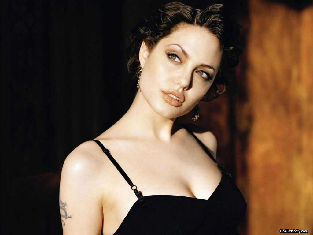 Hollywood Actress Angelina Jolie Sexy Wallpapers-4558