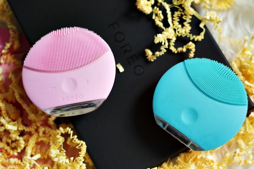 foreo luna, foreo, issa, luna mini 2, luna mini, szczoteczka soniczna, szczoteczka do mycia twarzy, pielęgnacja twarzy, skóry, matowa, wrażliwa, tłusta, mieszana, douglas, perfumeria, beauty,