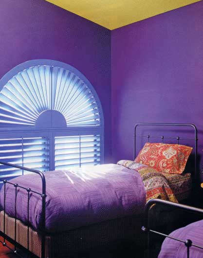 Trend Home Interior Design 2011 Bedroom Purple Furniture