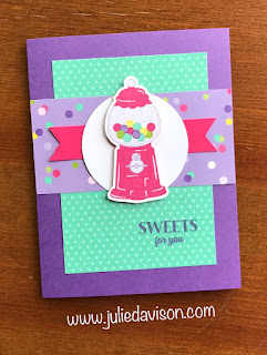 5 Cards, 1 Layout -- Stampin' Up! Occasion Catalog Sweetest Thing + How Sweet It Is ~ www.juliedavison.com
