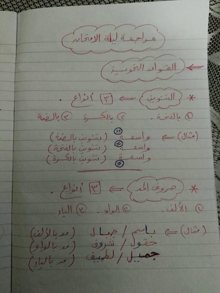 مراجعة القواعد النحوية والتراكيب للصف الثاني والثالث الابتدائي مستر إسلام سمك 1