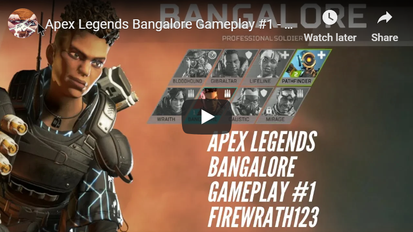 Apex Legends Bangalore Gameplay #1 - Full Match on PC (No Commentary)