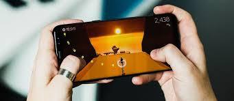 Gambar smartphone gaming
