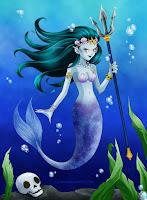 http://lilyskadi.blogspot.com/2017/05/100-creatures-challenge-25-mermaid.html