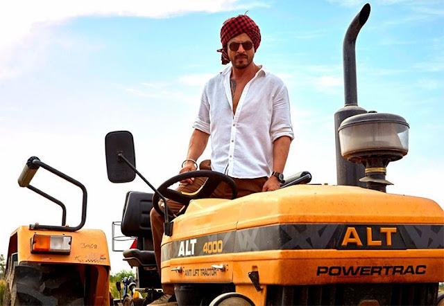 SRK, Tractor, Jab Harry Met Sejal