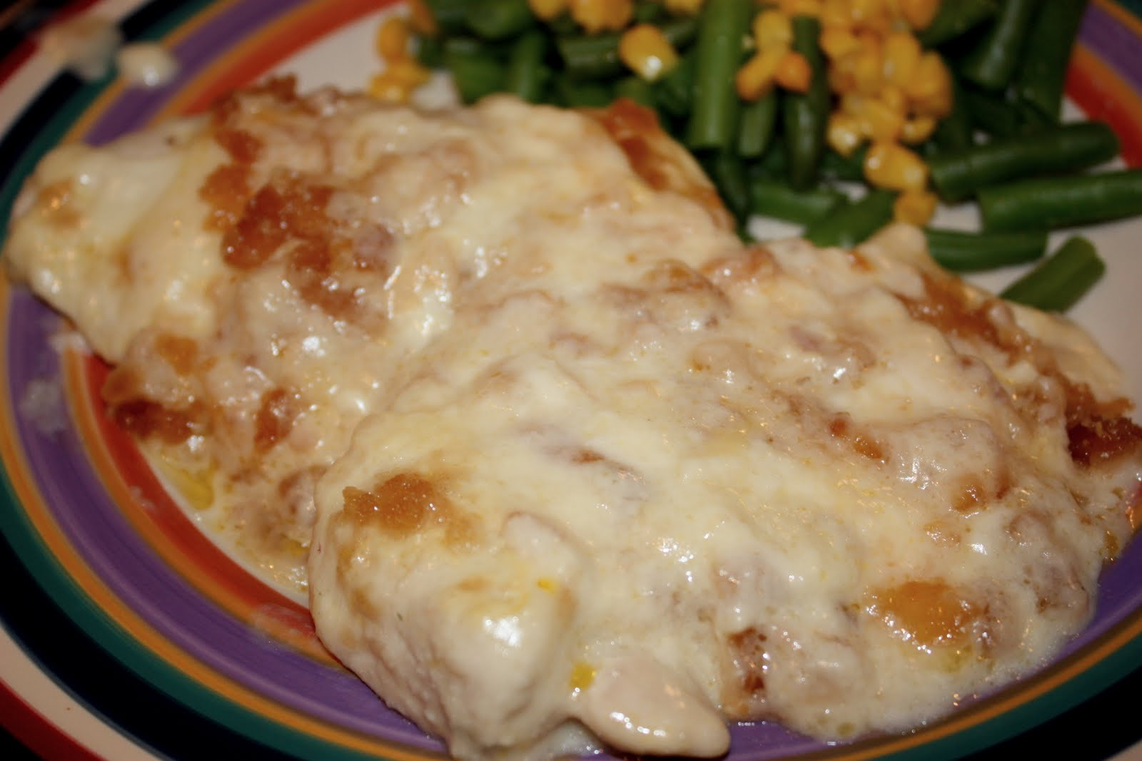 cooking with crystal: Swiss Chicken Casserole